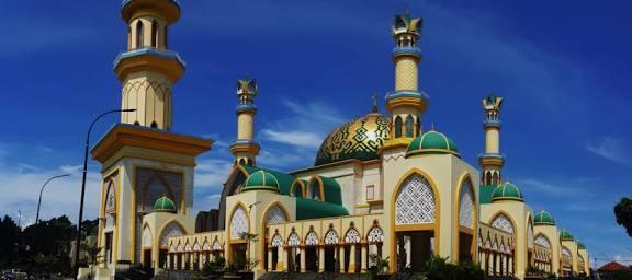 Saiful Arif Masjid Hubbul Wathan Terbesar Mataram Namanya Raya Sebagian