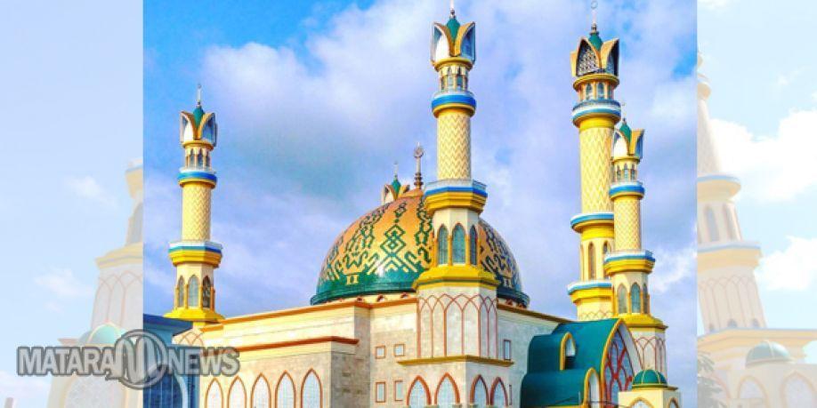 Sholat Ied Bersama 1438 Hijriah Dipusatkan Islamic Center Ntb Masjid