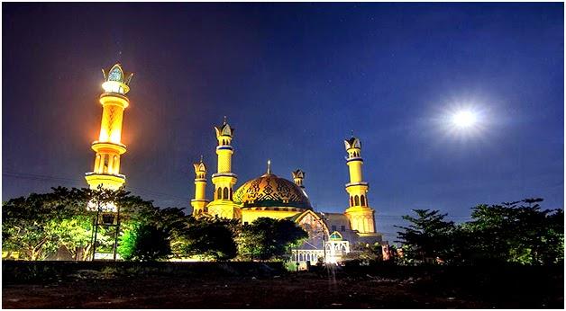 Yuks Liburan Lombok Pulau Seribu Masjid Pantai Bangunan Islamic Center