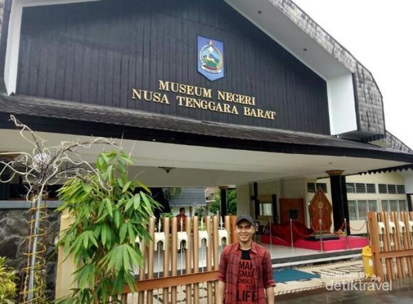 Lombok Punya Museum Keren Lho Berpose Pintu Masuk Nusa Tenggara