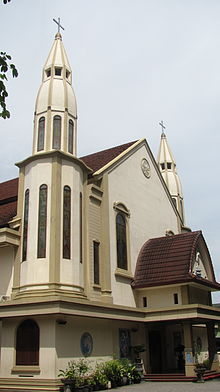 Mataram City Wikipedia Catholic Church Museum Nusa Tenggara Barat Kota
