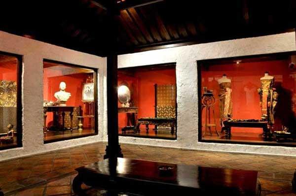 Ntb Museum Historical Cultural Lombok Permanent Building Sumbawa Island Miniature