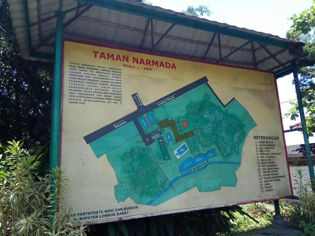 Read Write Wisata Taman Narmada Lombok Terletak Desa Lembuak Kecamatan