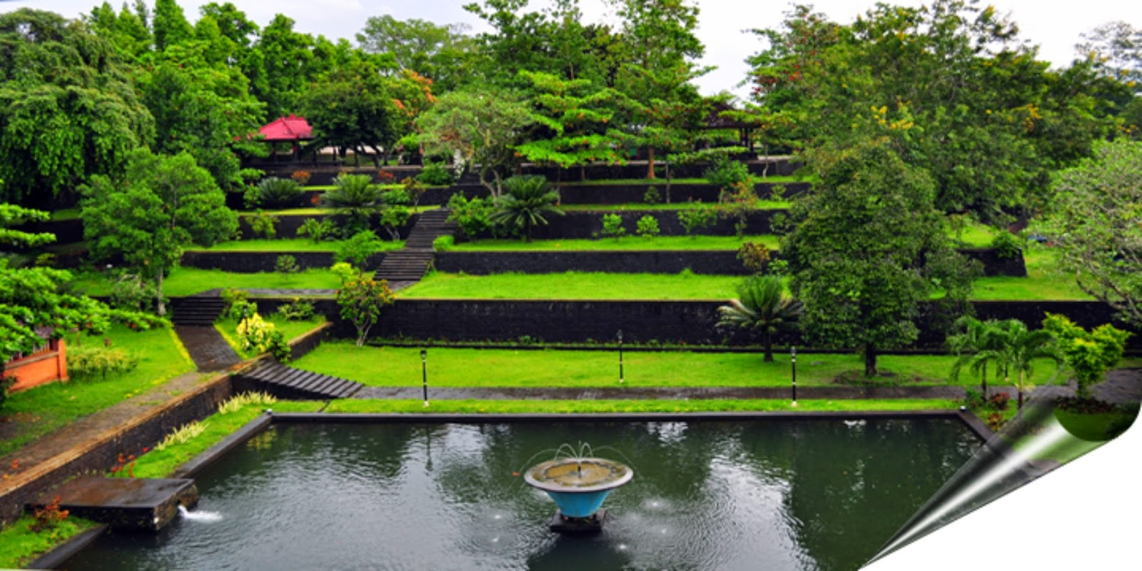 Taman Narmada Park Exotic Beauty Lombok Ntb Indonesia Pura Agung