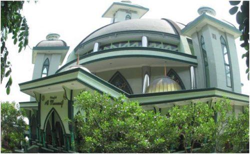 Masjid Al Musannif Perumahan Mewah Cemara Asri Medan Semedan Kota