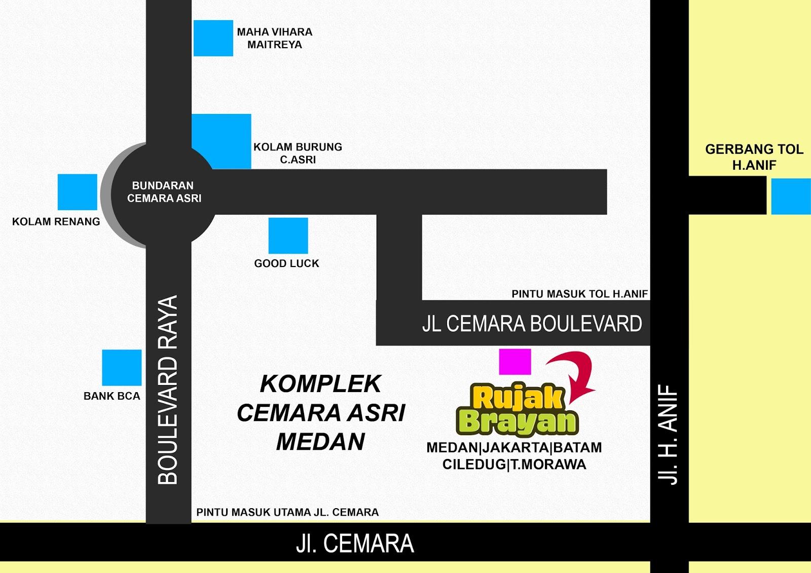 Rujak Brayan 6 Cabang Franchise Kota Medan Cemara Asri