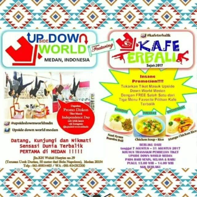Insane Promotion Makan Gratis Cafe Setelah Foto Museum Gallery Dunia