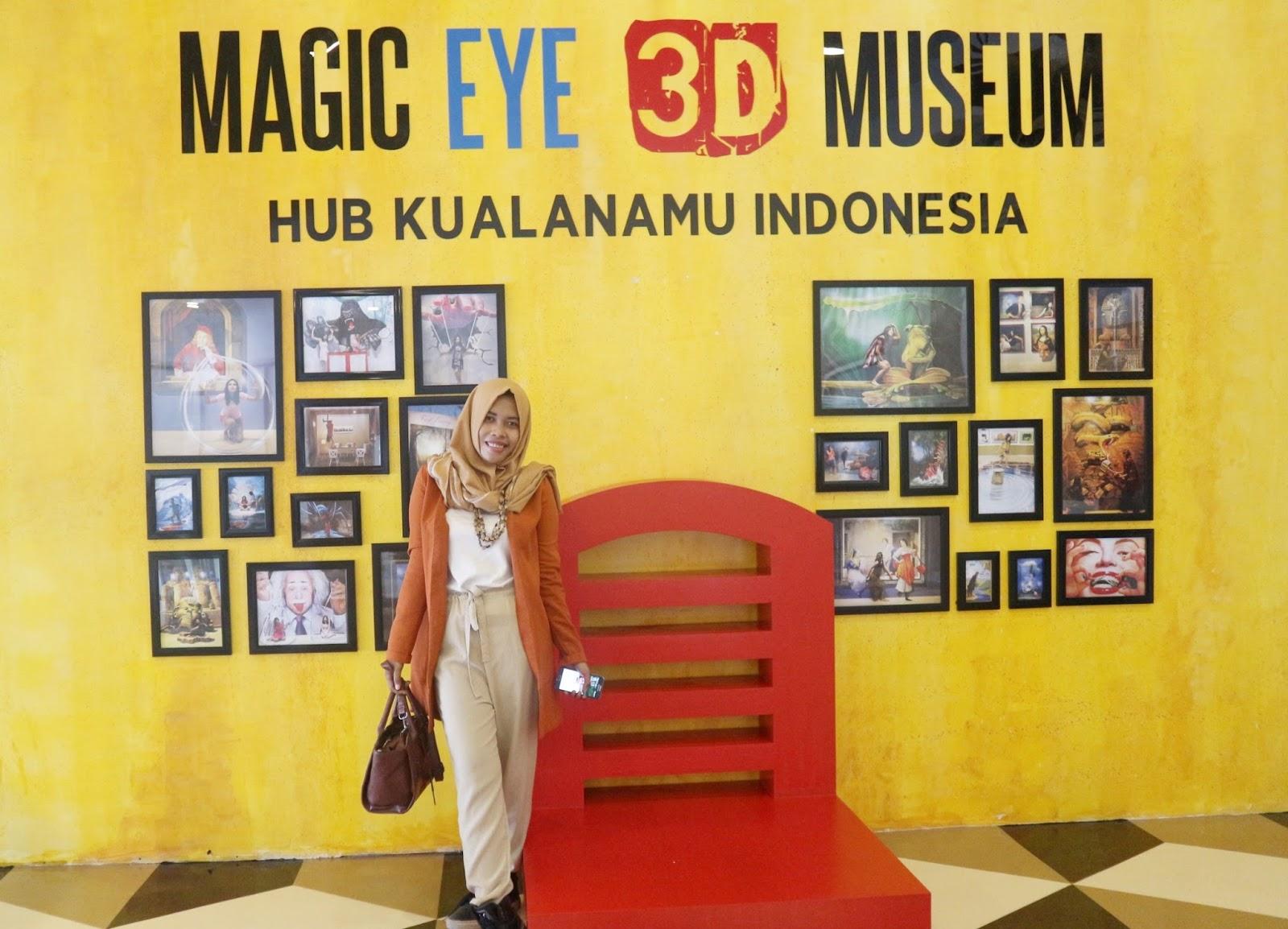 Menikmati Wisata Seni 3d Art Magic Eye Museum Kawasan Bandara