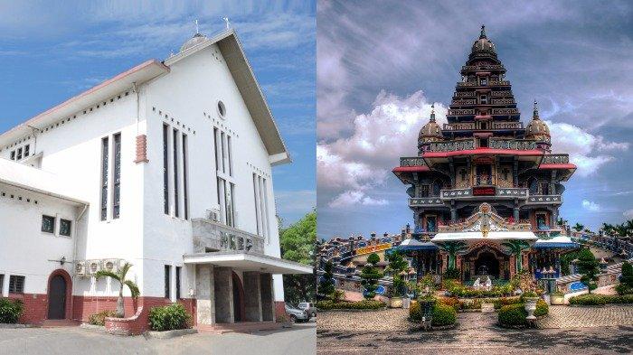 6 Destinasi Wisata Toleransi Medan Bisa Disambangi Usai Prosesi Ngunduh