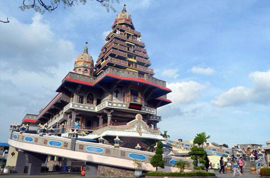 Church Graha Maria Annai Velangkanni Medan Tour Travel Kota