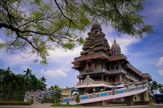 Facts Temple Graha Maria Annai Velangkanni Medan Indonesia Kota