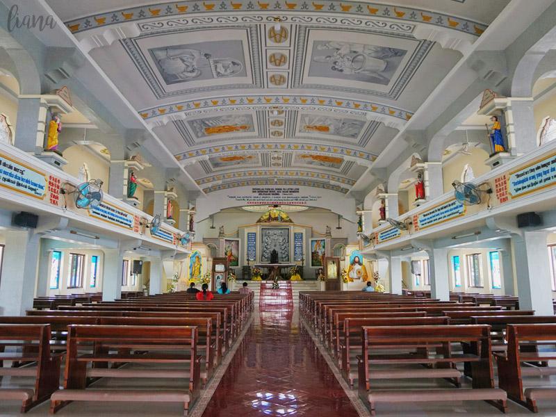Gereja Graha Maria Annai Velangkanni Medan Cerita Liana Tempat Wisata
