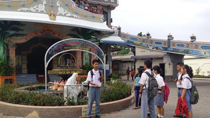 Gereja Graha Maria Annai Velangkanni Tempat Wisata Kota Medan Memiliki