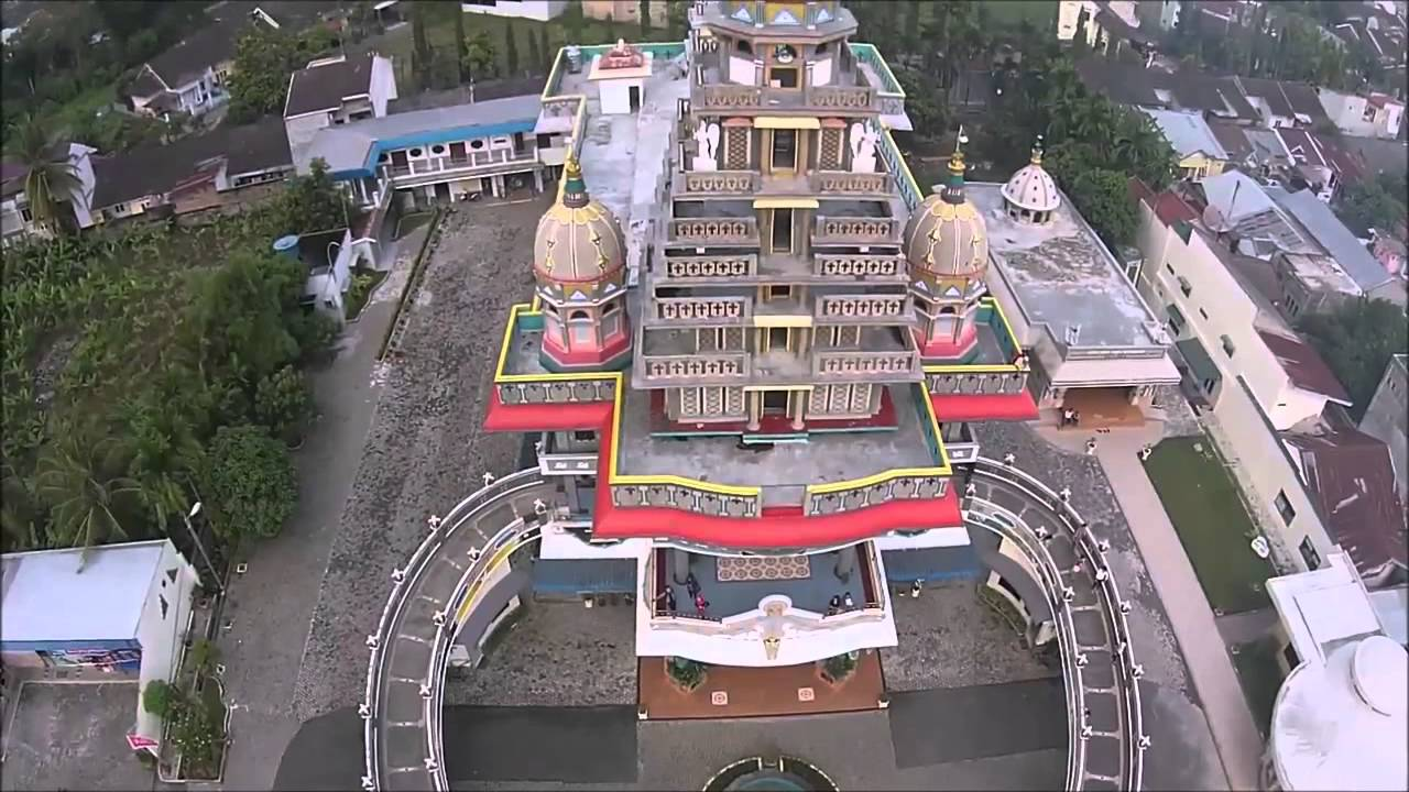 Gereja Maria Annai Velangkanni Medan Puvithankuna Youtube Graha Kota