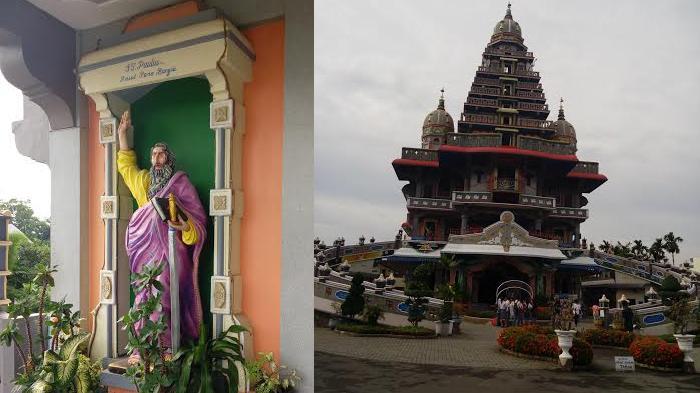 Gereja Medan Bentuk Bangunannya Mirip Kuil India Penyebabnya Tribun Silfa