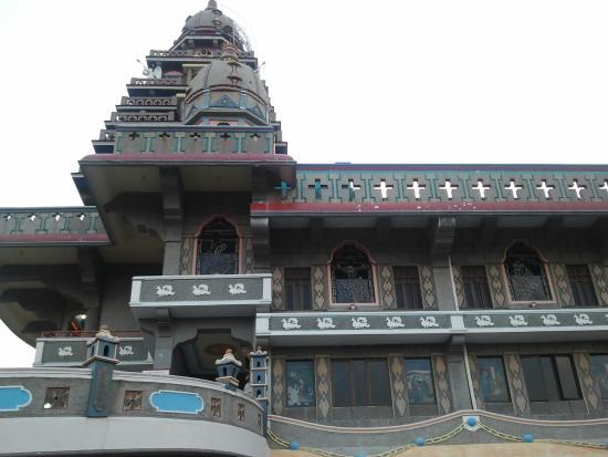 Gereja Santa Maria Annai Velangkani Foto Graha Bunda Velangkanni Kota