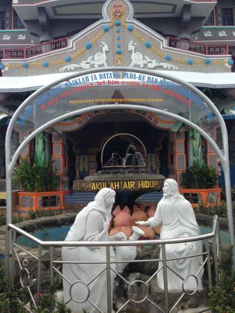 Gereja Santa Maria Annai Velangkani Picture Marian Shrine Velangkanni Patung
