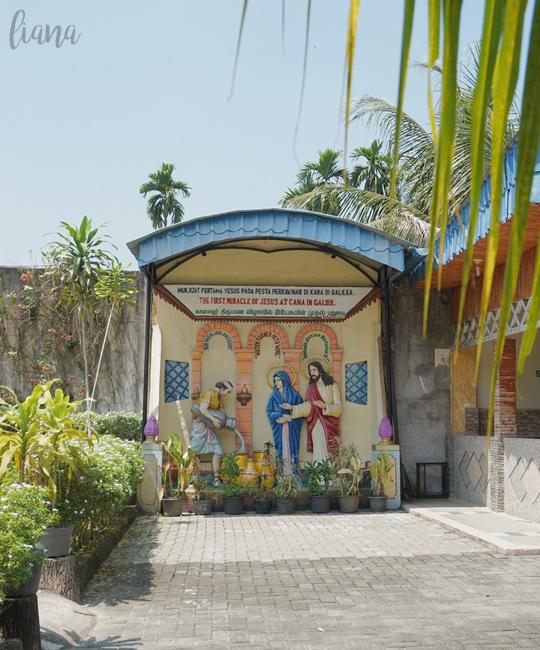 Graha Maria Annai Velangkanni Medan Cerita Liana Tempat Wisata Religi