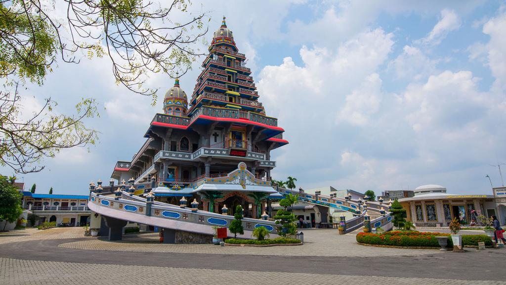 Graha Santa Maria Annai Velangkanni Medan Indonesia Flickr Slilin Kota