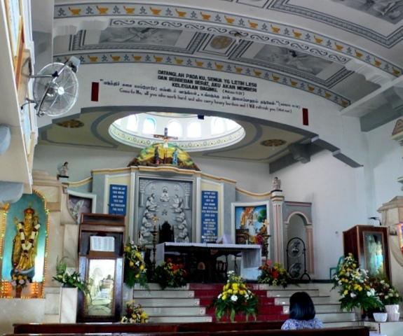 Keajaiban Mata Air Gereja Grha Maria Annai Velangkanni Panduan Bangunan