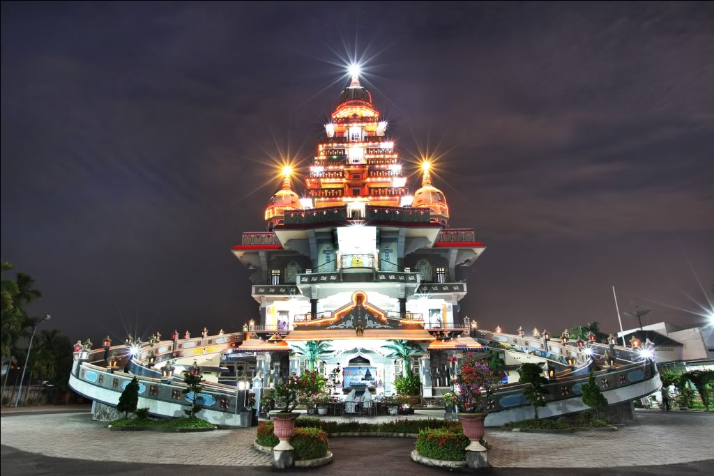 Keunikan Graha Maria Annai Velangkanni Informasi Wisata Dunia Kota Medan