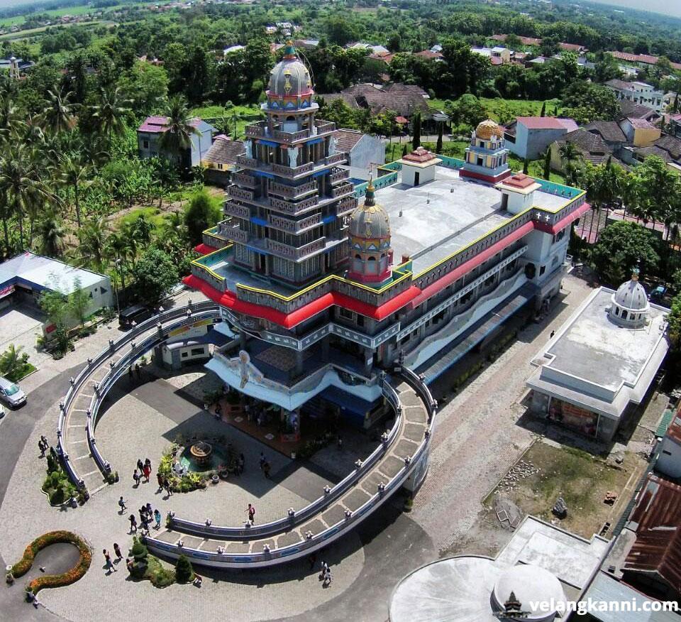 Marian Shrine Annai Velangkanni Built Indonesian Touch Architecture Totally Norm
