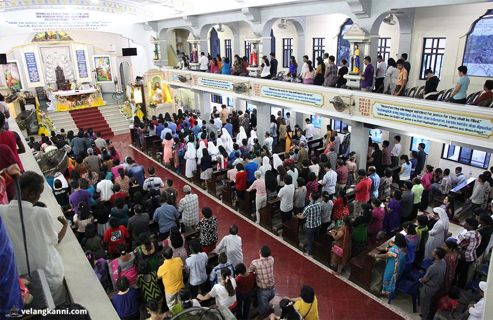 Mass Times 2018 Marian Shrine Graha Maria Annai Velangkanni Service
