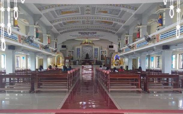 Uniknya Graha Santa Maria Annai Velangkanni Gereja Bangunan 2 Kota