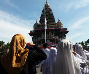 Upacara Satu Keberagaman Digelar Graha Maria Annai Velangkanni Kota Medan