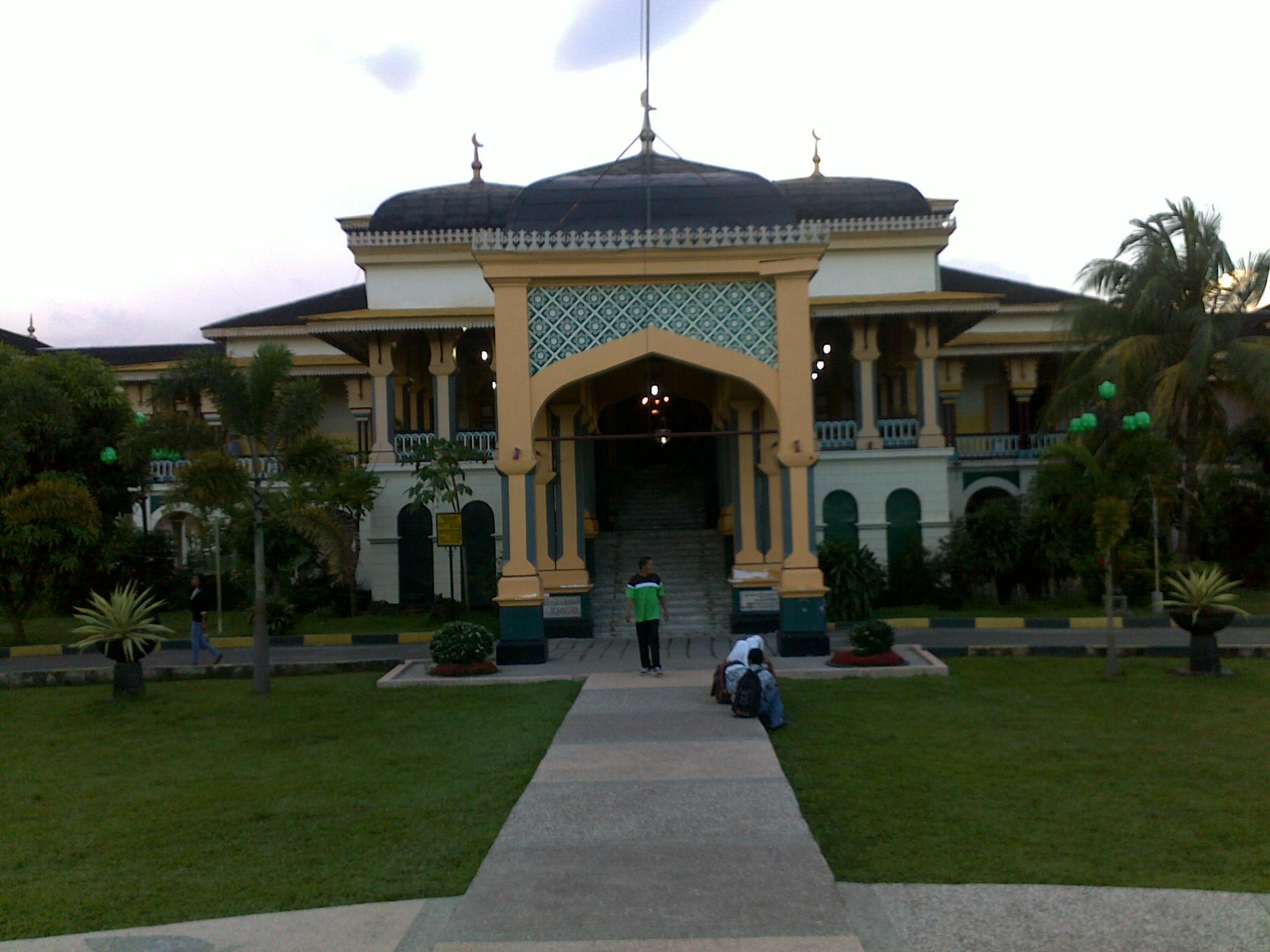 Berkunjung Kota Medan Bagian 3 Istana Maimun Indah Bagus Ya