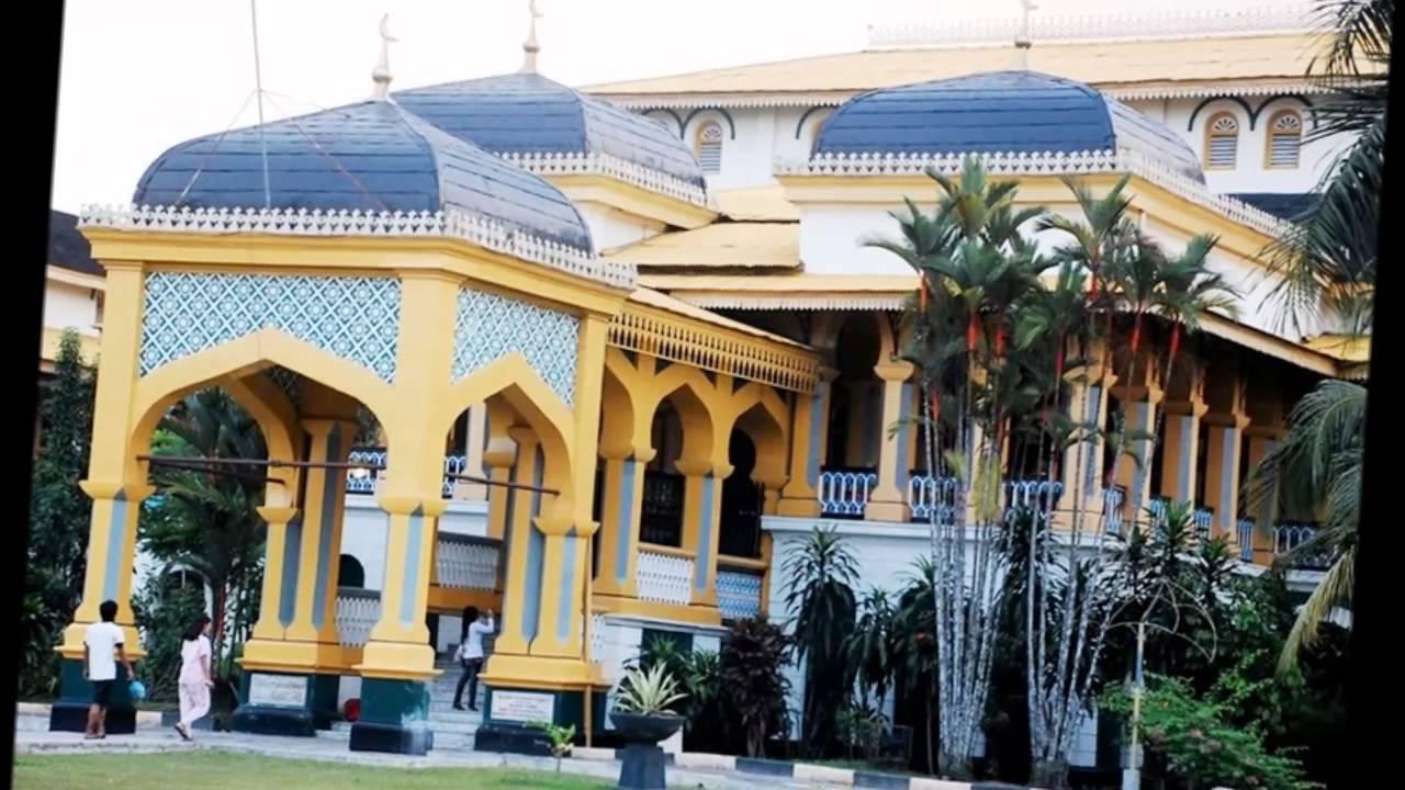 Istana Maimun Kota Medan Youtube