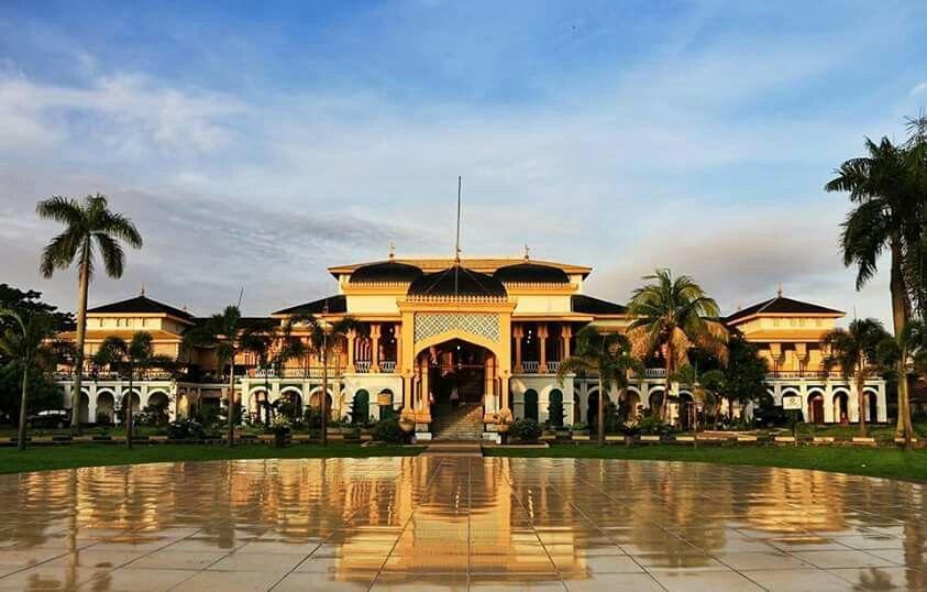 Istana Maimun Maimoon Palace Medan North Sumatera Indonesia Kota