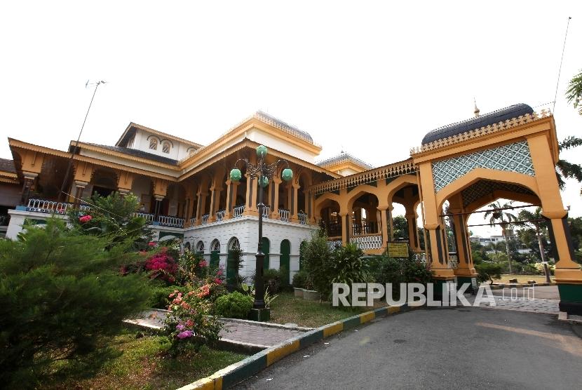 Istana Maimun Perlu Dilestarikan Republika Online Salah Satu Ikon Kota