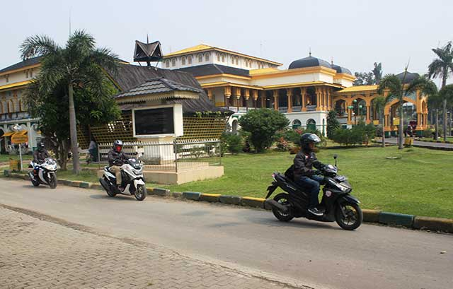 Istana Maimun Salah Satu Ikon Kota Medan Federal Oil Oli