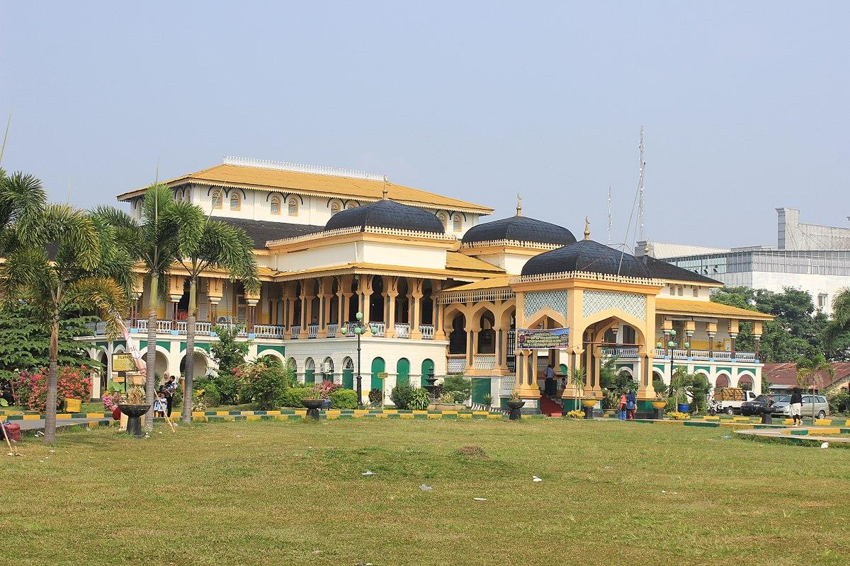 Istana Maimun Wikipedia Bahasa Indonesia Ensiklopedia Bebas Kota Medan