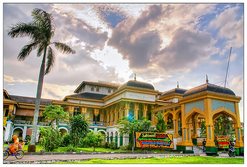 Kemegahan Istana Maimun Indonesia Explorer Kota Medan