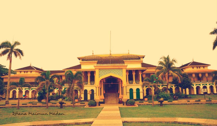 Lost Legacy Istana Maimun Nonikhairani Kota Medan