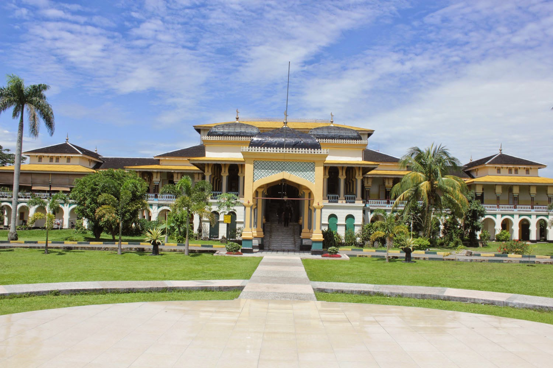 Megahnya Istana Maimun Medan Kang Alee Maimon Tetap Terlihat Megah