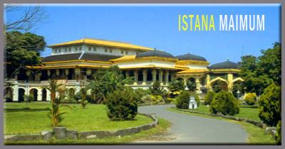 Menilik Glamornya Ikon Kota Medan Istana Maimun Megah Sumatera Utara