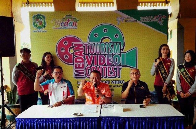 Promosikan Destinasi Wisata Dinas Pariwisata Gelar Medan Tourism Kadis Kota