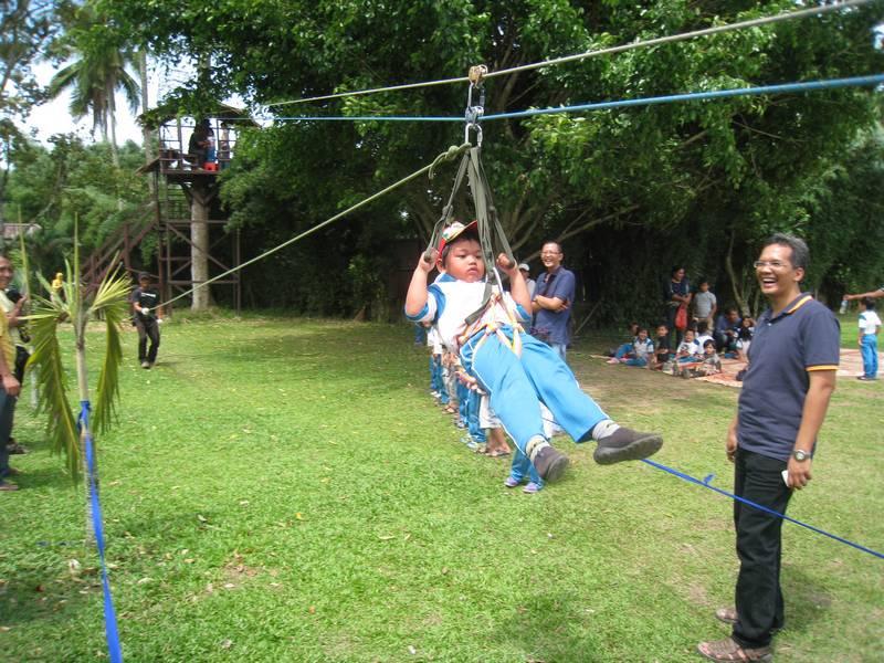 Global Prima National School Murid Playgroup Tk Mengikuti Kegiatan Outbond