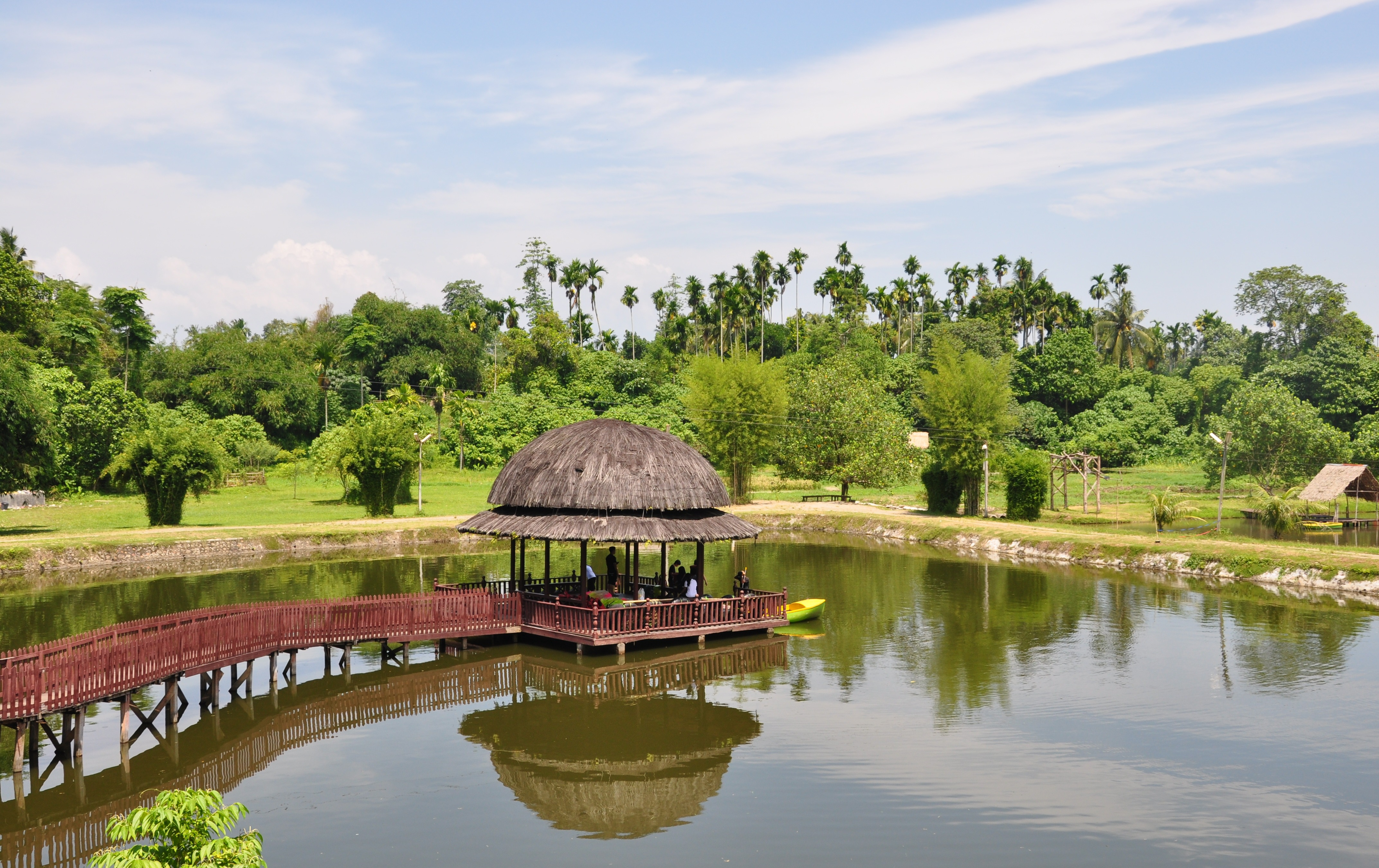 Kampung Ladang Fandryjalanjalan Outbound Kota Medan