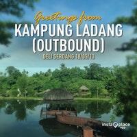 Kampung Ladang Outbond Tuntungan Foto Diambil Oleh Cut Maha Ratu