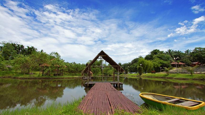 Kampung Ladang Outbound Deli Serdang Kota Medan