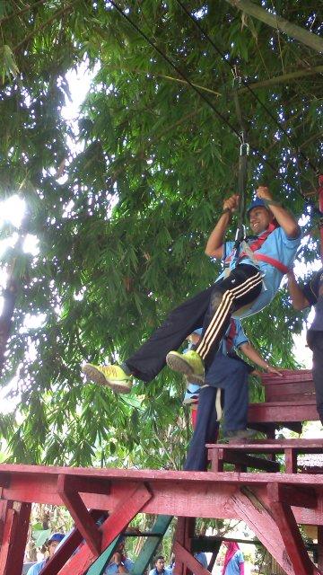 Mement Kampung Ladang Outbound Camp Steemit Jarak Tempuh Lokasi Kota