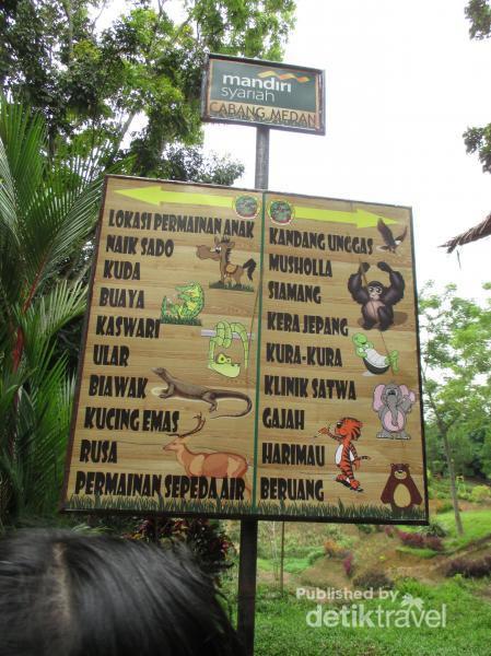 Mudik Medan Ayo Main Kebun Binatang Penunjuk Arah Kota