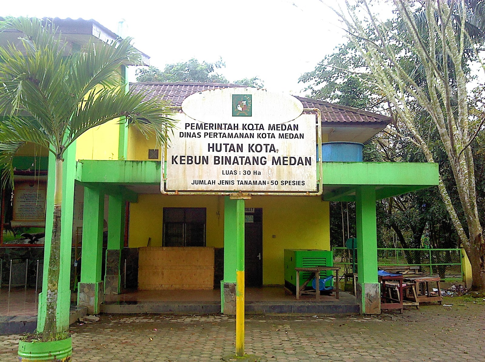 Wisata Kebun Binatang Sumatera Utara Medan Kota