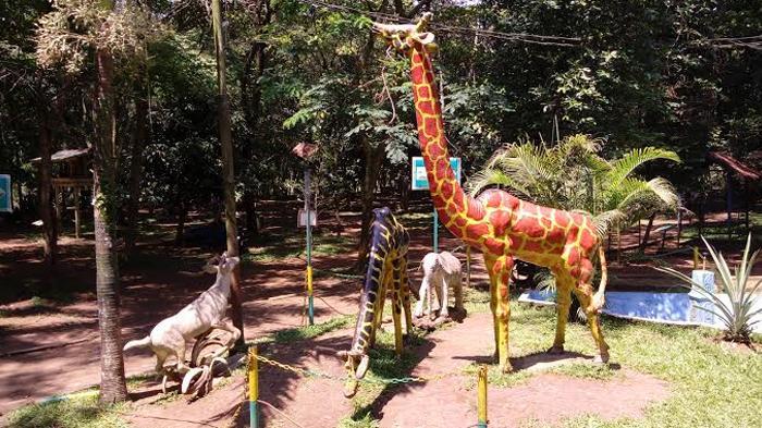 Wisata Tracking Jungle Kebun Binatang Medan Capek Tapi Puas Replika