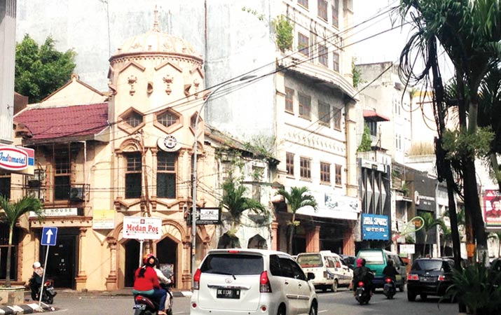 Berita Kesawan Saksi Sejarah Arsitektur Medan Harian Analisa Square Kota