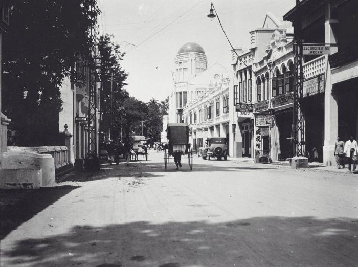 Kesawan Medan Wikipedia Bahasa Indonesia Ensiklopedia Bebas 1931 Tampak Latar